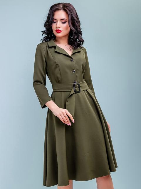 Сукня кольору хакі Seventeen 4983749