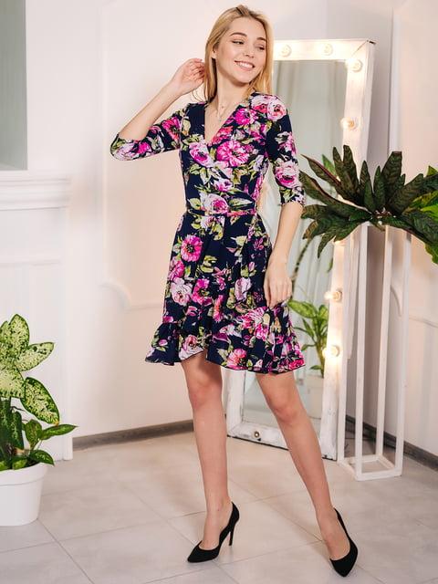 Платье в цветочный принт VSV 4985128