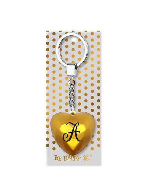 Брелок-сердце с надписью «А» Be Happy 4984746