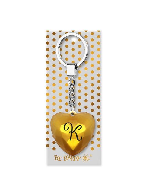 Брелок-сердце с надписью «К» Be Happy 4984773