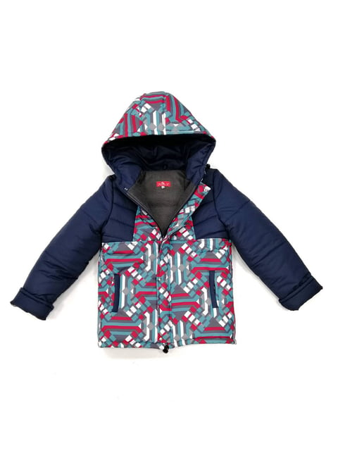 Куртка синя з принтом Piccolo 4977145