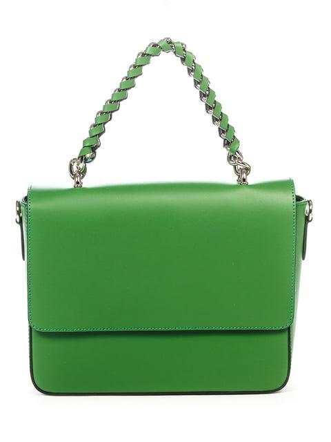 Сумка зелена Amelie Pelletteria 4979588