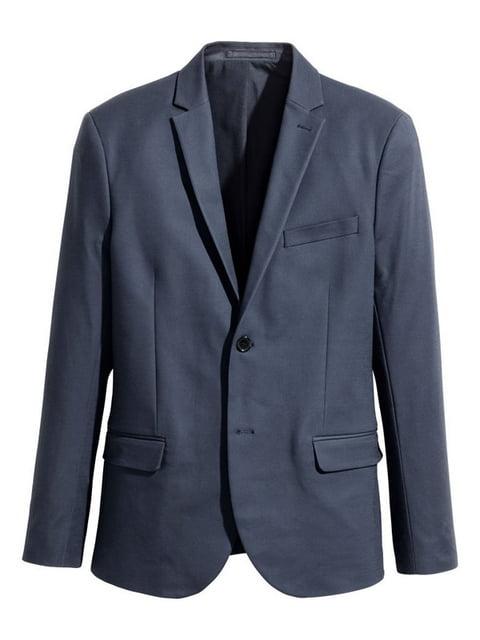 Пиджак темно-синий H&M 4975834