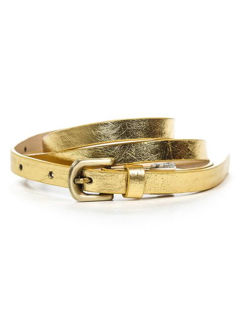Ремінь золотистий Pull&Bear 4647147