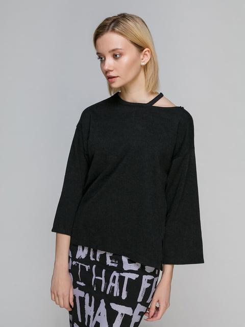 Джемпер чорний Zara 2436308