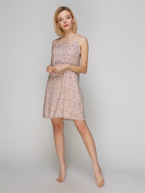 Сорочка нічна в квітковий принт BARWA garments 4984040