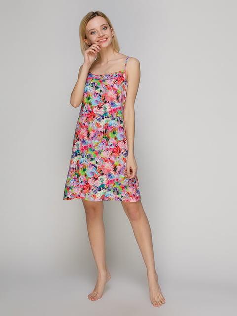 Сорочка нічна в квітковий принт BARWA garments 4984038