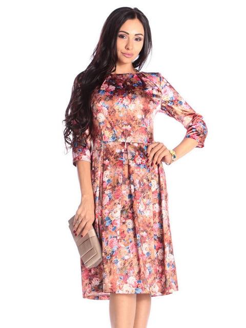 Платье в принт Laura Bettini 5010357