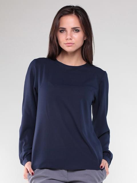 Блуза темно-синего цвета Laura Bettini 5010394