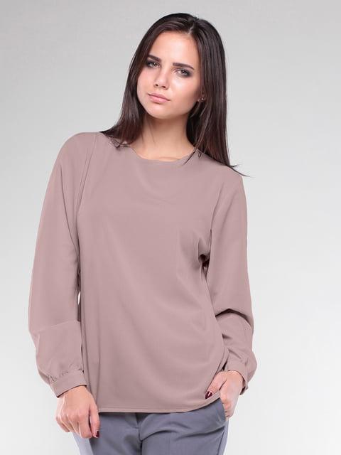 Блуза цвета мокко Laura Bettini 5010395