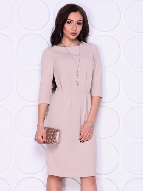 Сукня бежева Laura Bettini 5010406