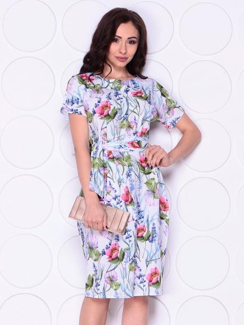 Сукня в принт Laura Bettini 5010444
