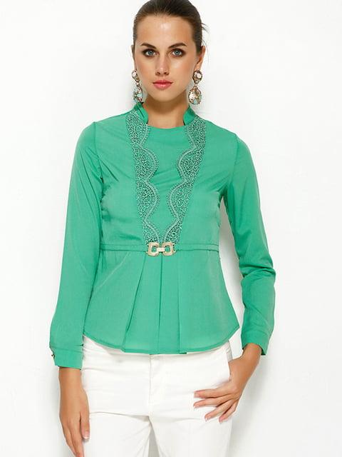 Блуза зелена MA&GI 5013803
