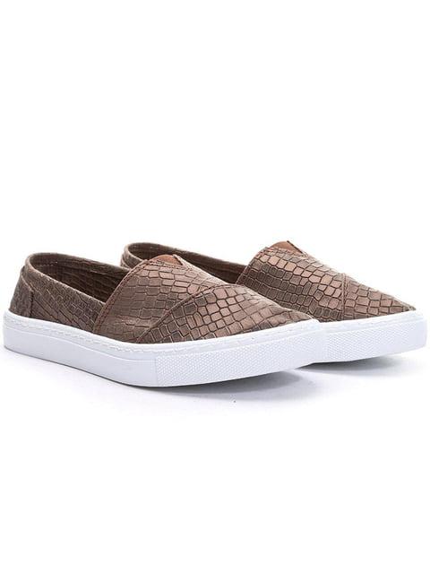 Эспадрильи коричневые Shoes&Moda 5013965