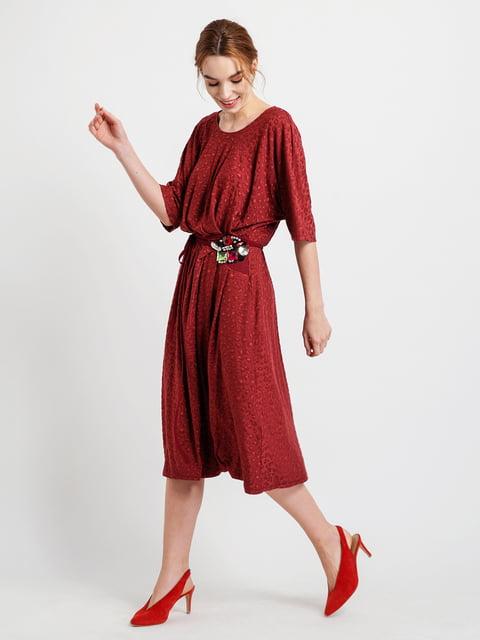 Платье бордовое BGN 4890617