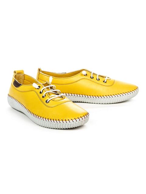 Кеды желтые NUBE 5009997