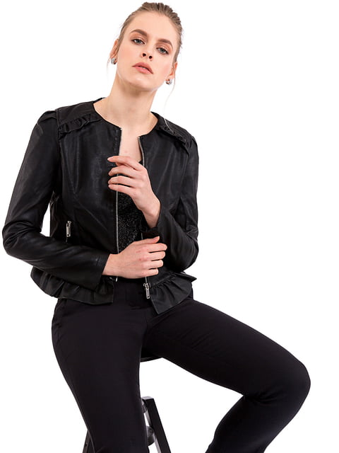 Куртка чорна LC Waikiki 5021353