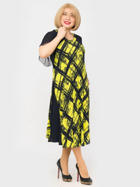 Сукня в принт LibeAmore 5027213