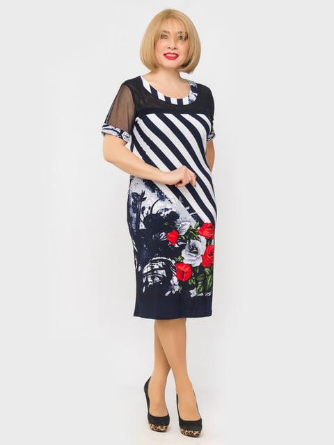 Платье в полоску и принт LibeAmore 5027229