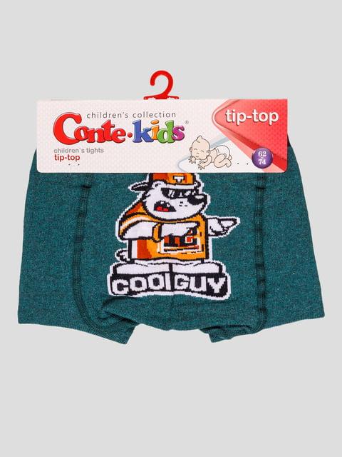 Колготки темно-бирюзовые Conte Kids 4975550