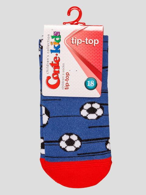 Носки цвета джинс Conte Kids 4975537