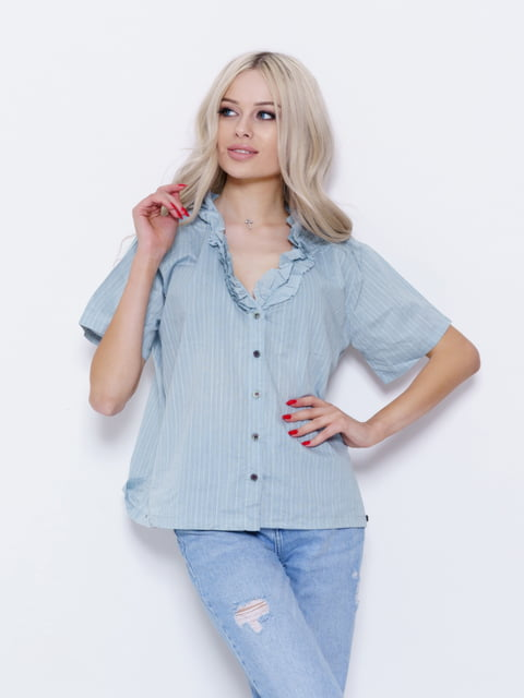 Блуза бирюзовая Magnet 5029534