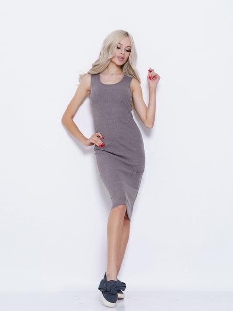 Платье серое Magnet 5029552