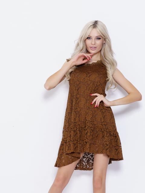 Платье коричневое Magnet 5029571