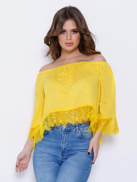 Блуза жовта Magnet 5029606