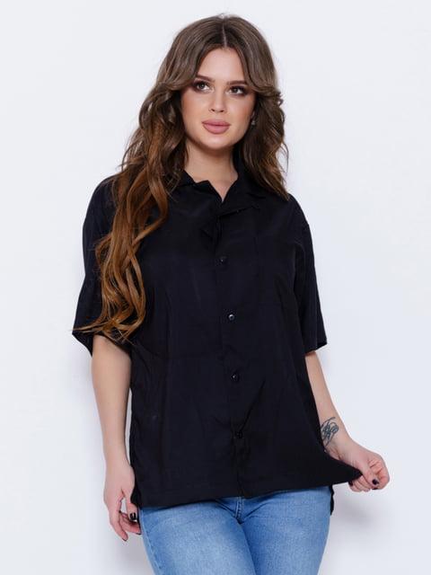 Рубашка черная Magnet 5029608