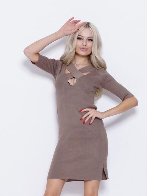 Платье серое Magnet 5029637