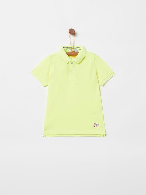 Футболка-поло жовта Oviesse 4970259