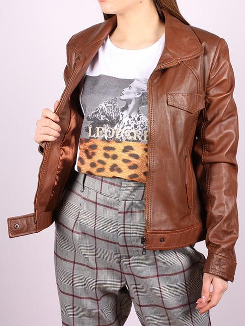 Куртка коричневая Jakko 5034392