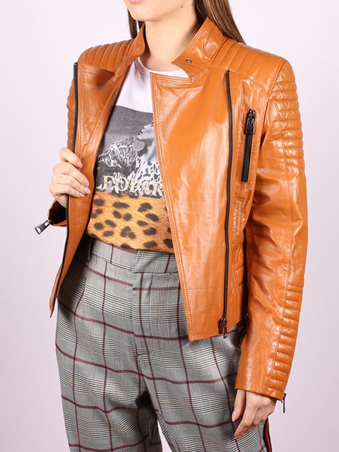 Куртка рыжего цвета Jakko 5034405