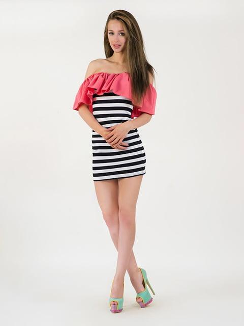 Платье  коралловое Podium 5035120