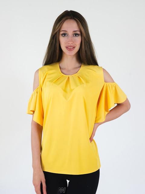 Блуза желтая Podium 5035153