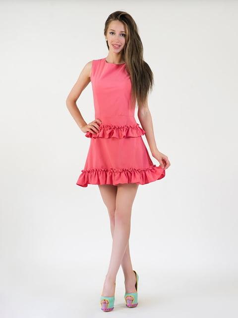 Платье коралловое Podium 5035200
