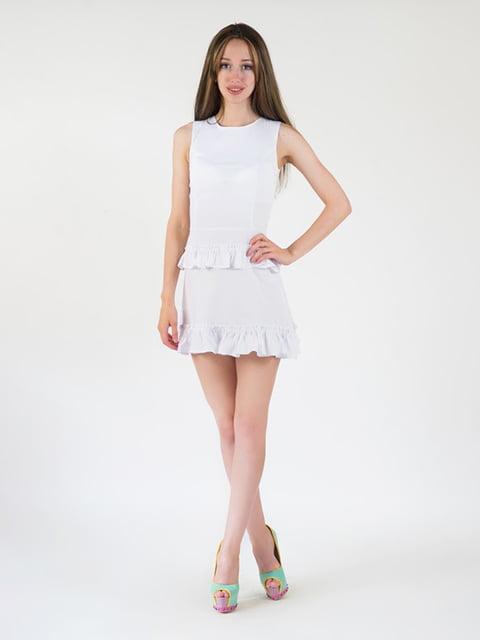 Платье белое Podium 5035203