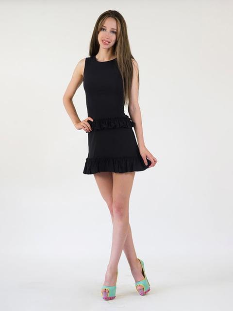 Платье черное Podium 5035204