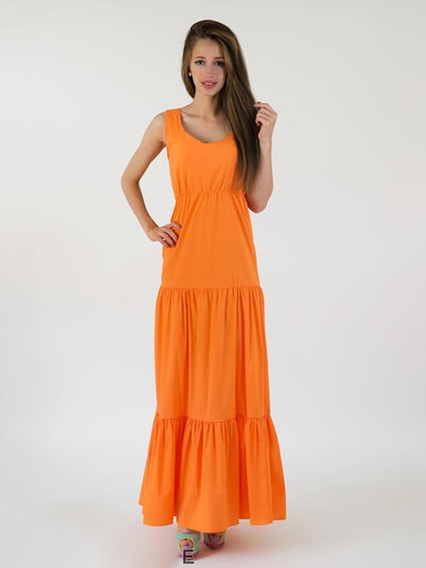 Платье оранжевое Podium 5035207