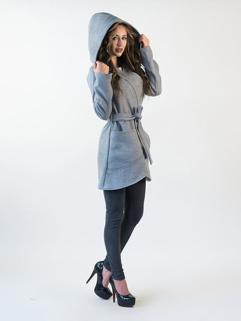 Пальто серое Podium 5035241
