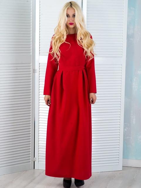 Платье красное Podium 5035311