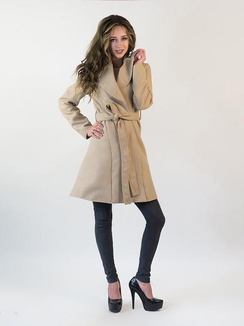 Пальто бежевое Podium 5035314