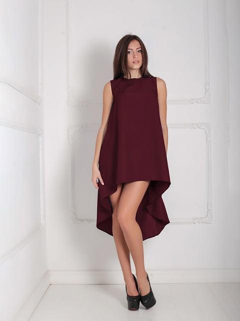 Платье бордовое Podium 5035380