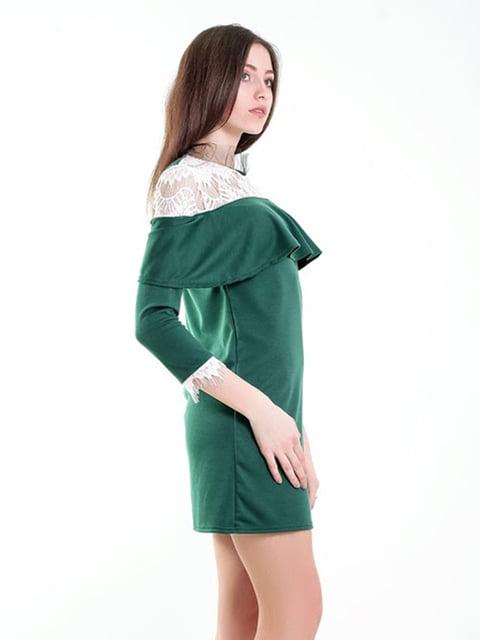 Платье зеленое Podium 5035416