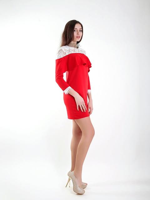 Платье красное Podium 5035421