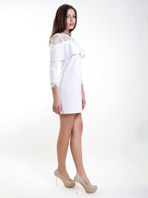 Платье белое Podium 5035422