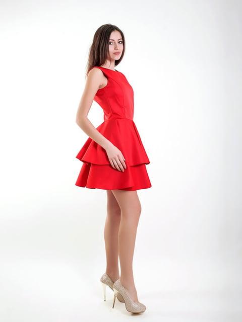 Платье красное Podium 5035428