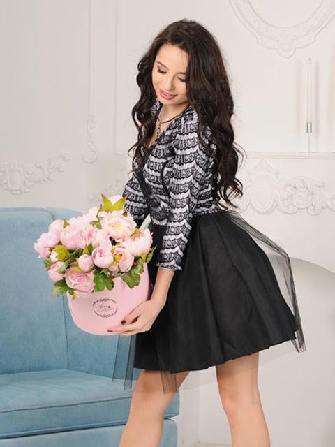 Платье черное Podium 5035436