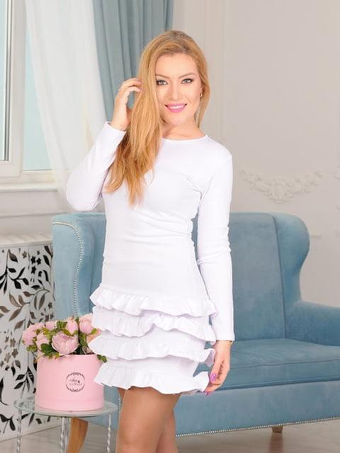 Платье белое Podium 5035465